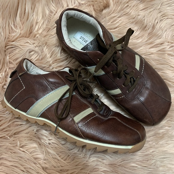 Steve Madden Other - Steve Madden | Brown Tan Remie Fashion Sneaker - 9